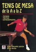 Tenis de mesa de la A a la Z
