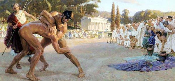 Juegos olímpicos en la Grecia antigua