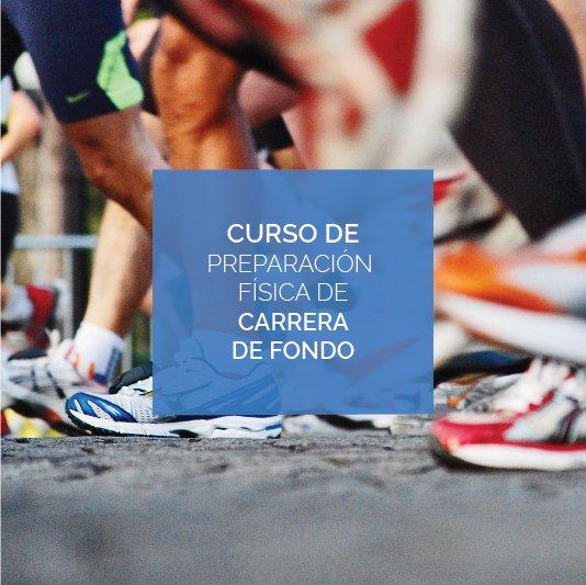 Curso preparación física de carrera de fondo